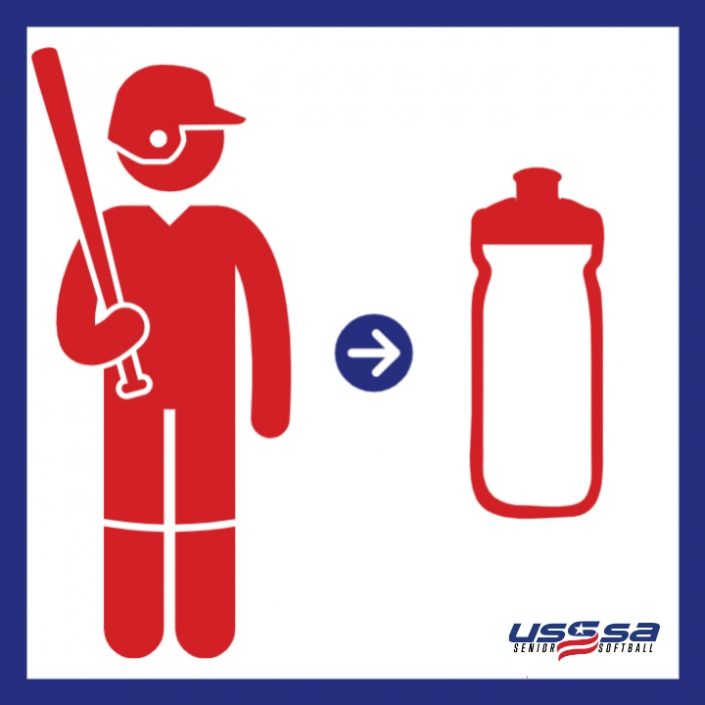 USSSA Senior Softball One Water bottle